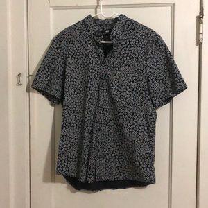 H&M short sleeve floral button down